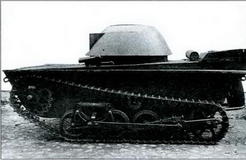 Танк П. Шишкова Т-37Б, 1935 г.