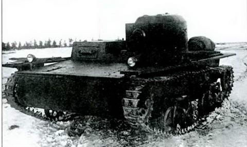 Танк Т-38 первой серии, 1935 г.