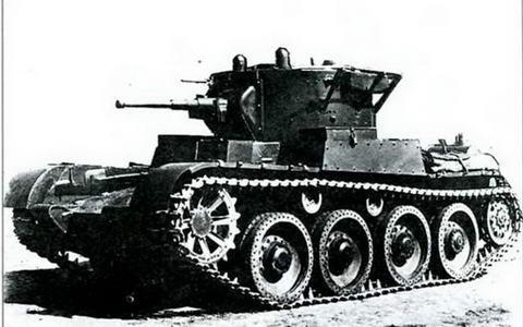 Первый серийный образец танка Т-46А, 1936 г.