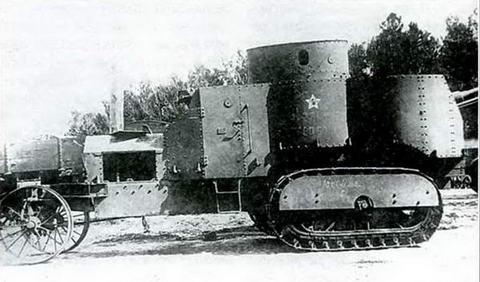 «Самодвигатель» Н.Гулькевича «Ахтырец» («Красный Петербург») на службе в Красной армии. 1918 г.