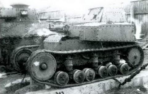 Танкетка Т-11 первого образца, 1929 г.