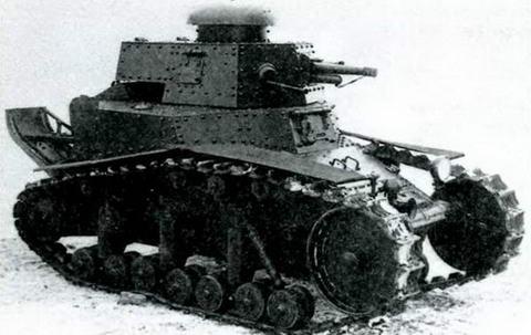 Общий вид танка МС- 1(Т-18) после модернизации 1929-1930 гг.