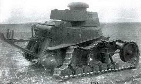 Дистанционно управляемый модернизированный танк МС-1(Т-18) выпуска 1930-31 гг.