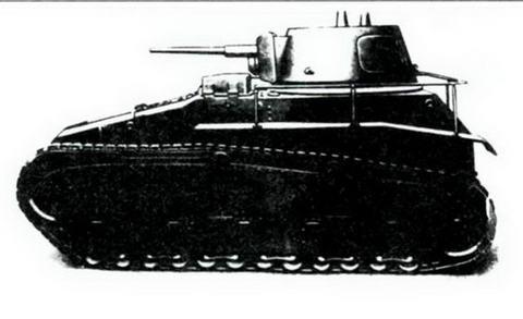 «Легкий трактор»фирмы «Рейнметалл», 1929 г.