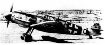 Один из предсерийных Bfl09G-10 с мотором DB 601Е на испытаниях