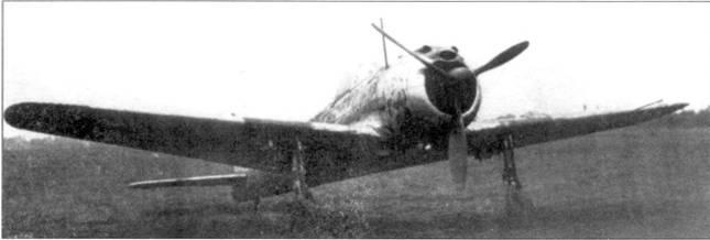 Камуфлированный Ки-43-II-Оцу.