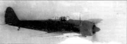 Ки-43-II в полете.