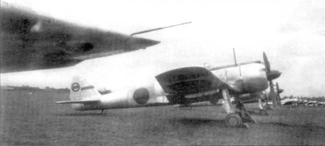 Ки-43-II-Оцу из 2-го чутая (инструкторский) летной школы армии Кумагая, Саитама, начало 1944 года. Весь самолет цвета дюраля.