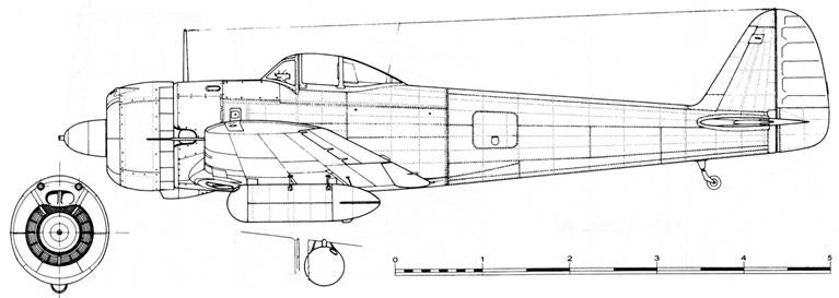 Ki 43-II-Ko ранний