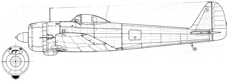 Ki 43-II-Ko поздний