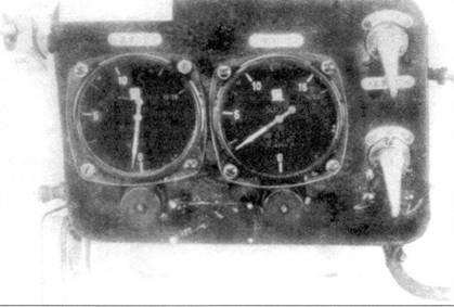 Правая вспомогательная приборная доска Ки-43-I.