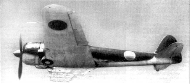 Серия из пяти снимков, сделанных в ходе испытаний американцами трофейного Ки-43-II-Оцу. Фонарь кабины у самолета был разбит, и его заменили фонарем от Ки-43-I-Хей.