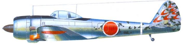 Ки-43-II-Оцу, 2-й чутай, 248-й сентай. Новая Гвинея, 1944 год.