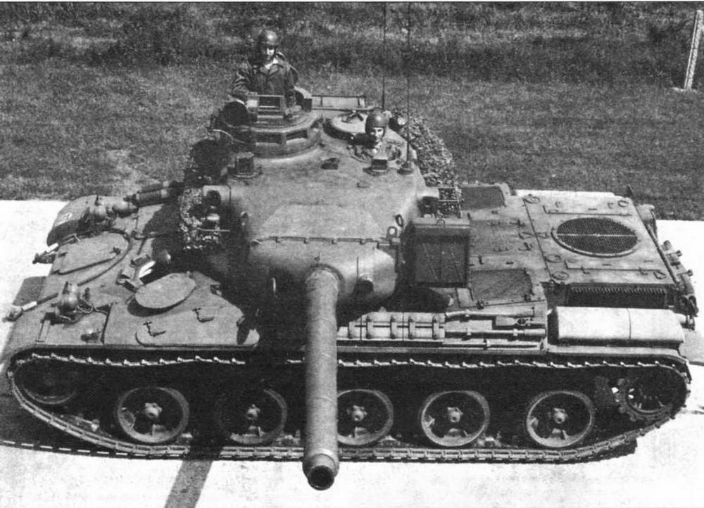 Французские основные боевые танки АМХ-30
