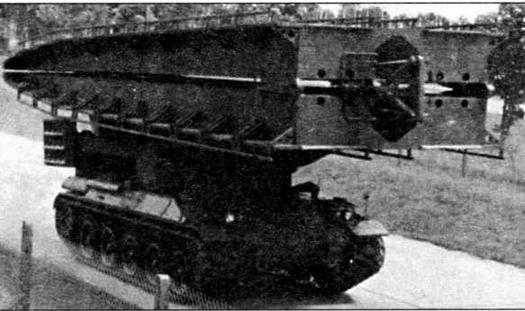 Мостоукладчик на базе танка АМХ-30