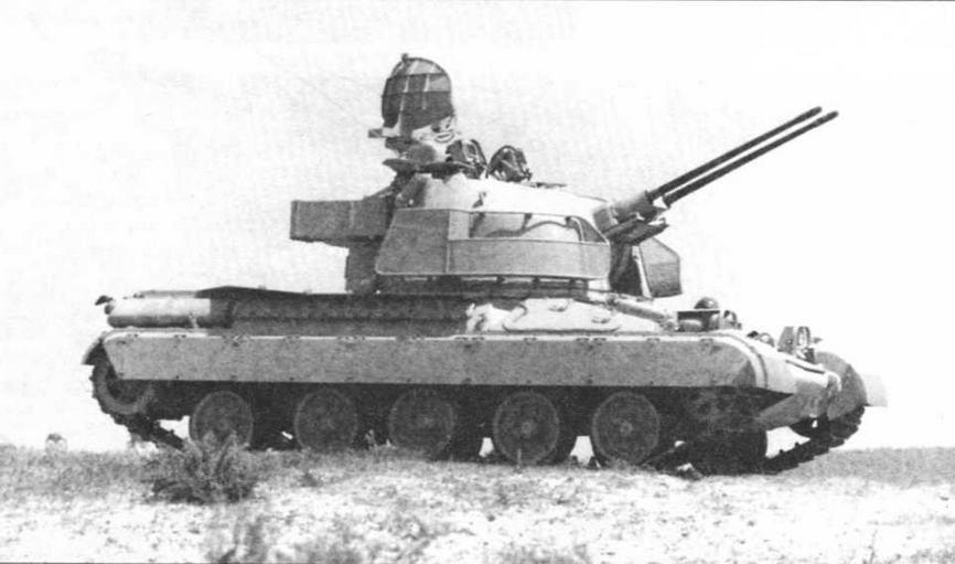 Зенитная самоходная установка AMX-30DCA