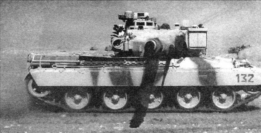 АМХ-30В2 во время боевых действий. Операция «Буря в пустыне», 1991 год