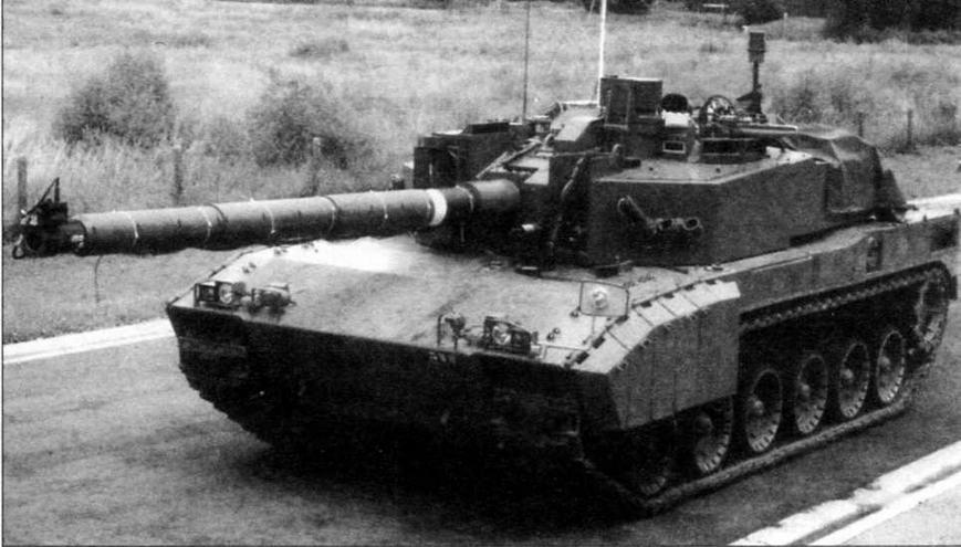 Один из первых прототипов танка иПекперк»