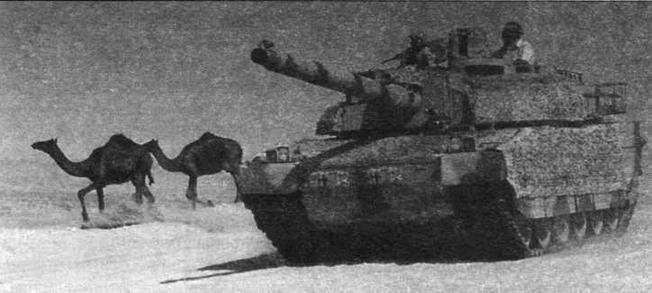 «Леклерк» в пустыне