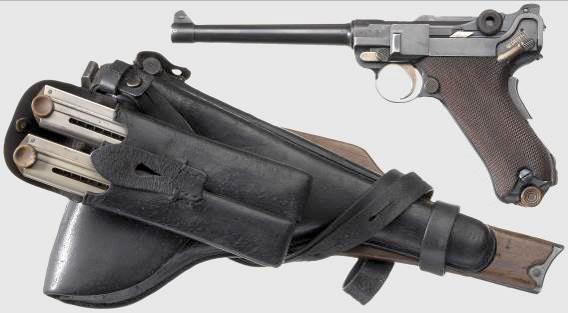 Pistole 1904 / Navy Model 1904 / Navy Luger