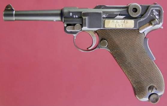 Экспортные модификации пистолетов Люгера