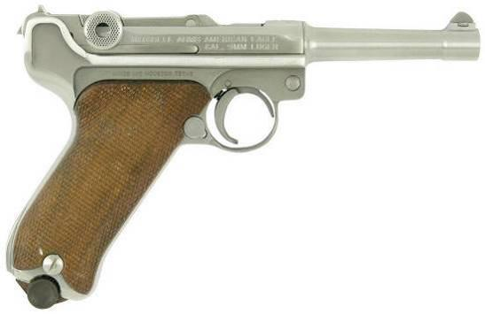 Парабеллум – уникальный пистолет Георга Люгера