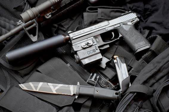 Heckler und Koch Mark 23 Model 0 SOCOM Pistol