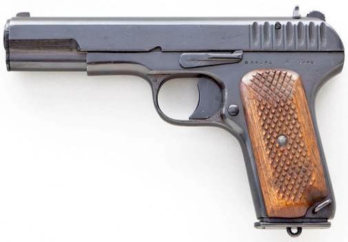 Токарев ТТ / 7,62-мм самозарядный пистолет обр. 1930 г.