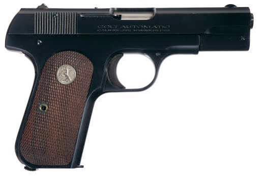 Colt Model 1903 Pocket Hammerless / Model 1908 Pocket Hammerless