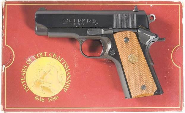 Colt Officer's ACP MK IV series 80