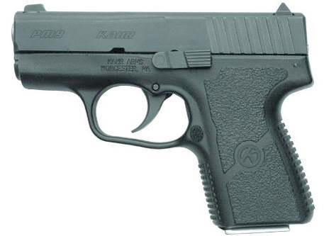 Американский пистолет Kahr PM9, не столь известный как оружие компании Glock, тем не менее, не уступает сверхпопулярным австрийским пистолетам практически по всем качествам. Он компактен, так же прост в обращении, удобен и надежен в работе. Большое преимущество PM9 – плавность и легкость хода спускового крючка, что очень нравится его владельцам и любителям оружия. Минусом же является большая рыночная стоимость.