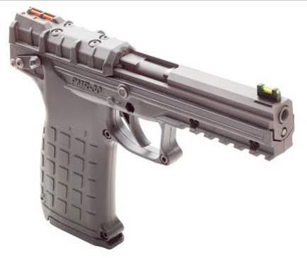 PMR-30 оснащен мушкой и целиком с отличающимися по цвету оптоволоконными светособирающими вставками, позволяющими быстрее осуществлять прицеливание, особенно при скоростной стрельбе.