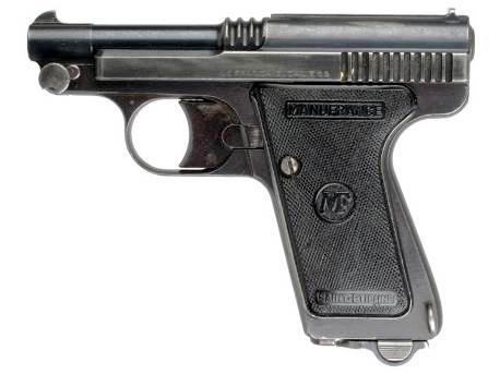 Пистолеты Manufrance Le Frangais