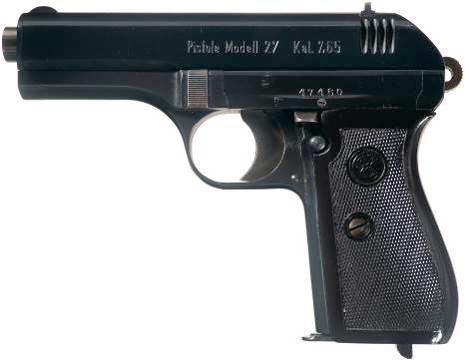 CZ 27 / Vz.27 / Pistole 27(t)