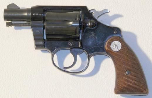 Револьвер Colt Agent, производство которого было начато в 1962 году, так же как и Cobra имеет рамку из легкого сплава на основе алюминия, но в отличие от него рукоятка Agent более короткая, что сделано в целях компактности и скрытности при ношении. Основной отличительной особенностью данной модели является меньшая стоимость по сравнению с Cobra и Detective Special, сниженная в основном благодаря использованию менее дорогого в производстве матового покрытия.