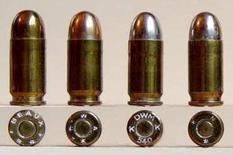 9mm Short (.380 ACP / 9mm Browning / 9mm Kurz / 9mm Corto /9x17)