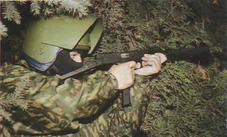 Пистолет-пулемет имеет схему