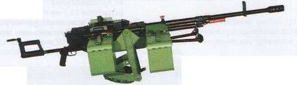 12,7-мм пулемет «Корд» 6П50-2 на установке 6У16