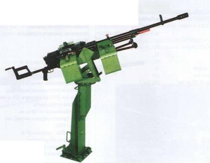 12,7-мм пулемет «Корд» 6П50-3 на установке 6У16 и стойке СП