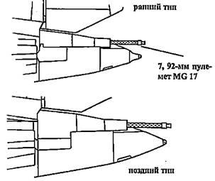 Хвостовая пулеметная установка