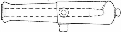 3-пудовая бомбовая пушка образца 1849г.
