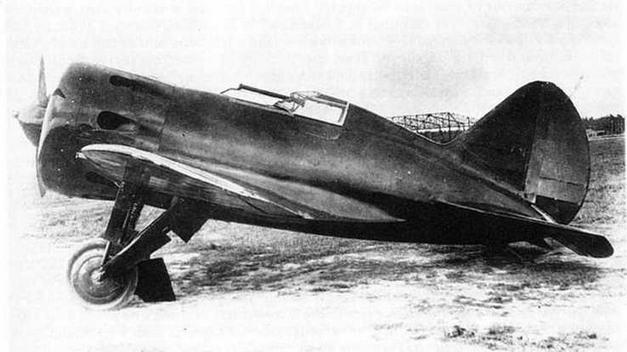 Третья опытная машина ЦКБ-12, осень 1934 г. Подмосковье. Щелковский аэродром НИИ ВВС.
