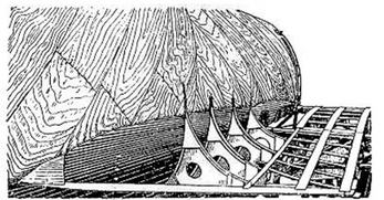 Конструкция зализа крыла
