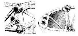 Стыковочные узлы крыльев