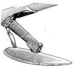 Хвостовая лыжа (лыжонок)