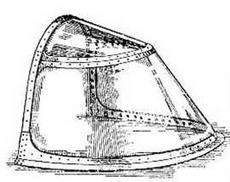 Козырек (с типа 10)