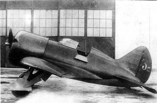 Третий серийный И-16 производства завода №39,1934 г.