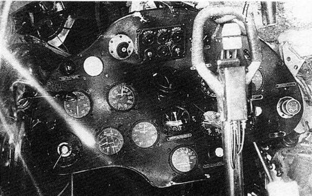 Приборная доска аварийного И-16 тип 10.
