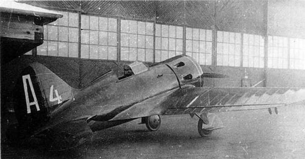 Самолет И-16 N-123954, прототип серийных И-16 тип 5.