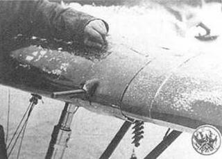Зима 1934-35 года. Вид на пулемет ШКАС, торчащий из крыла.